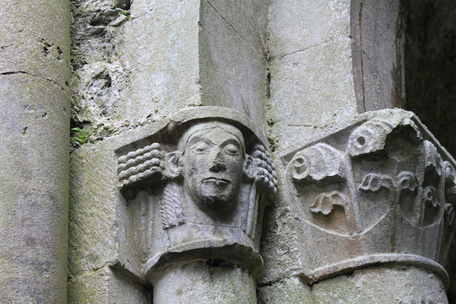 Architechtural Details - Corcomroe Abbey - the Burren