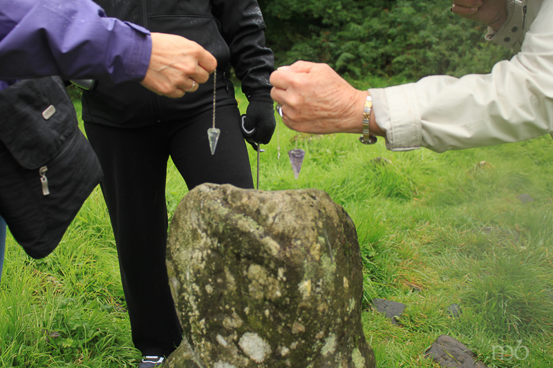 Caldragh Cemetery - pendulums