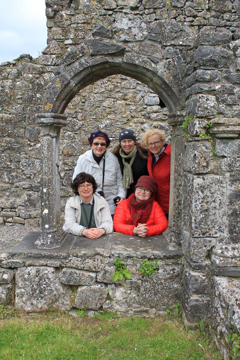 Guests on Tour of the South - 2011 at Hoare Abbey, Co. Tipperary