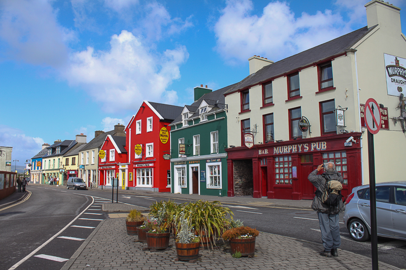 Dingle Town - near the harbor