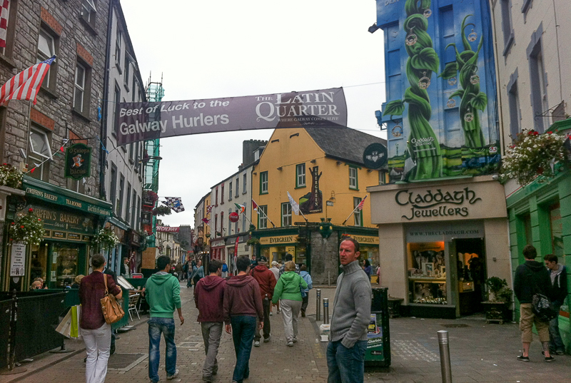 Galway City - the Latin Quarter