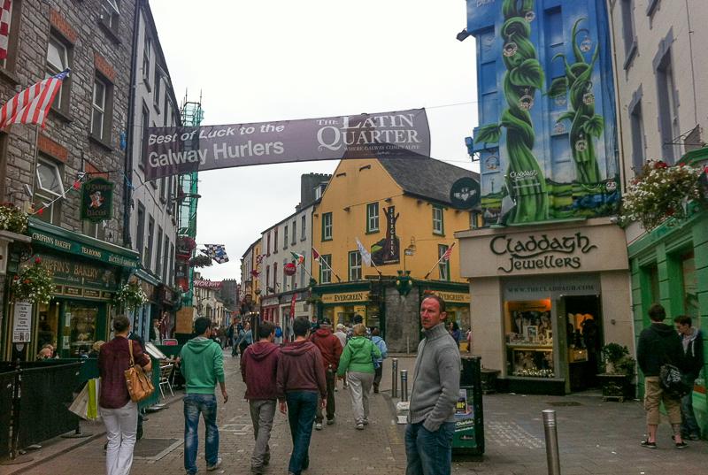 Galway City - the Latin Quarter