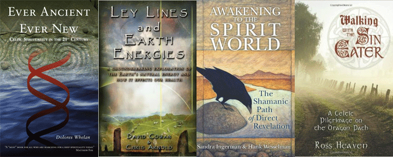 Books on Mindful Travel, Earth Energies and Celtic Spirituality