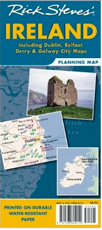 Rick Steves Planning Map of Ireland